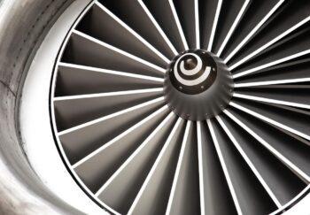 Jet engine fan blades