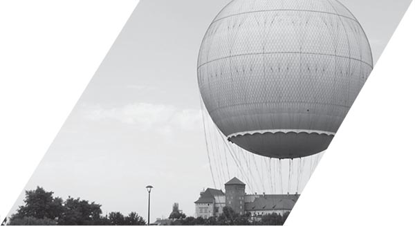 First human flight in hot air balloon, built by Montgolfier brothers in Paris