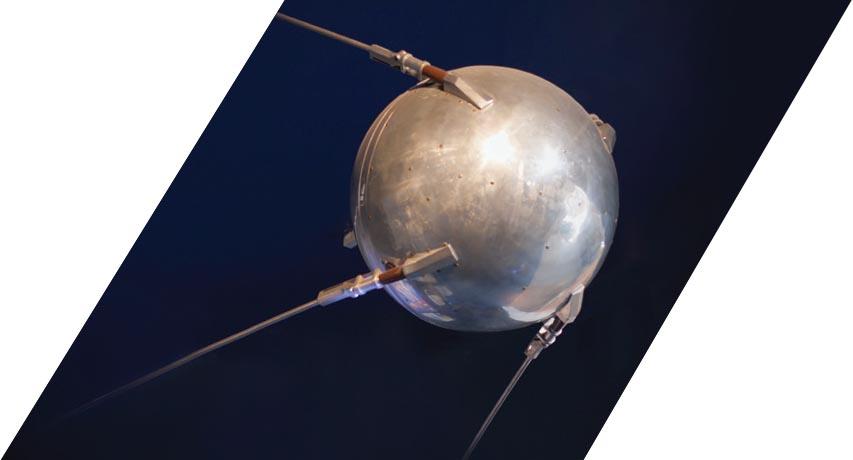 Russia launches first artificial satellite Sputnik 1