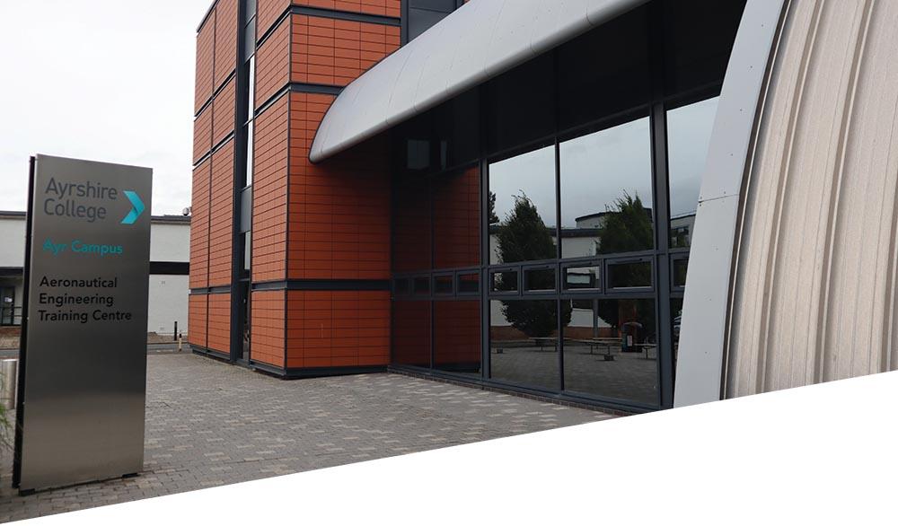 Entrance to the Aero Training Centre